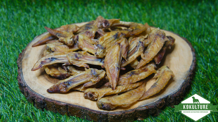 Dehydrated Chicken Wings - K9 Kulture