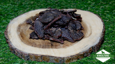 Dehydrated Pork Tongue Chips - K9 Kulture