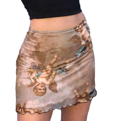 """KITTY"" Double Layer Skirt"