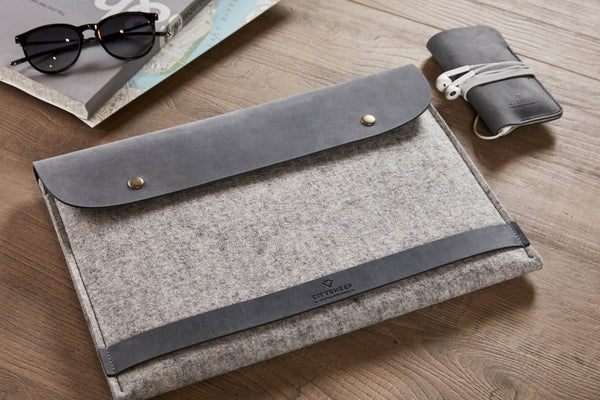 CARRY MORE MacBook Case/ Scandinavian Grey/