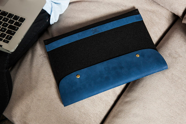 CARRY MORE MacBook Case/ Deep Blue/