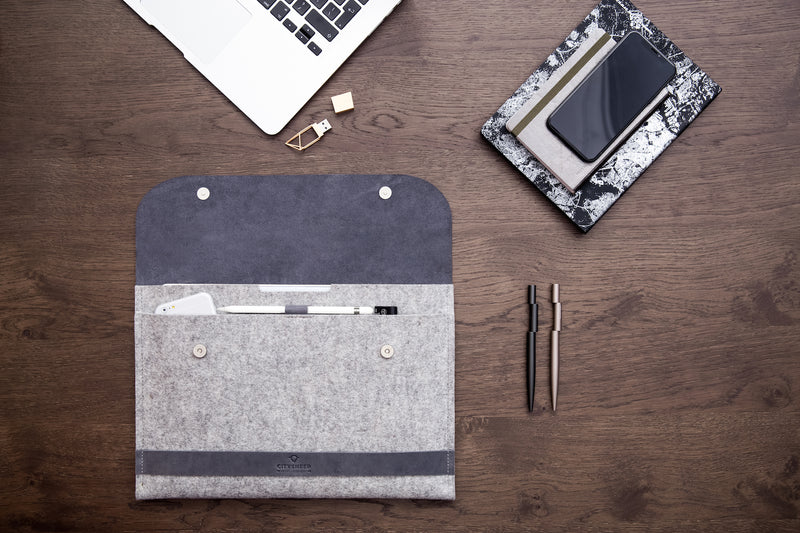 "CARRY MORE iPad Pro 12.9"" Case/ Scandinavian Grey/"