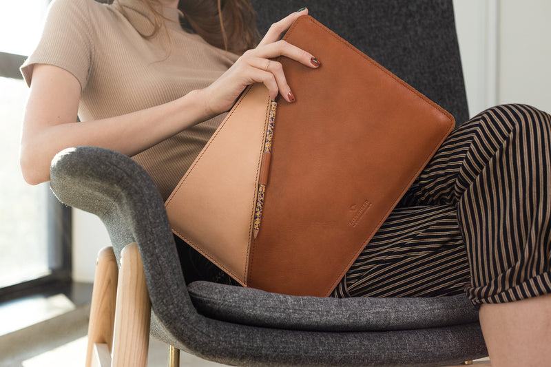 SLIM FIT MacBook Case/ Vegetable tanned/