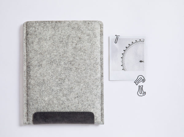 SECOND SKIN iPad Case/ Scandinavian Grey/