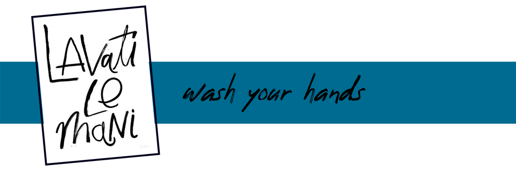 Wash Your Hands Print - by Artist Caitlin Shirock - April Blog Post