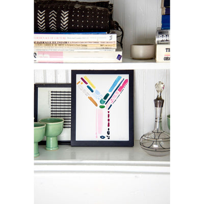 Color Letter Y Print - Cash Color Lifestyle-1