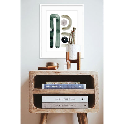 Neutral Letter B Print - Cash Color Lifestyle