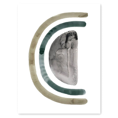 Neutral Letter C Print by artist Caitlin Shirock