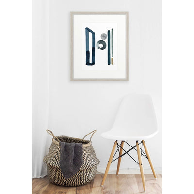 Neutral Letter H Print by artist Caitlin Shirock