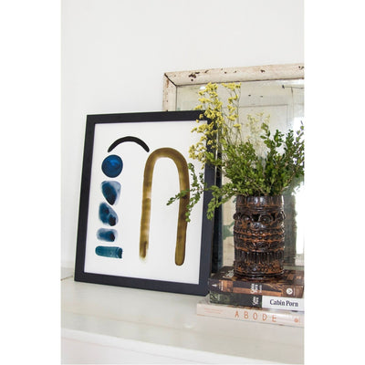 Neutral Letter M Print by artist Caitlin Shirock