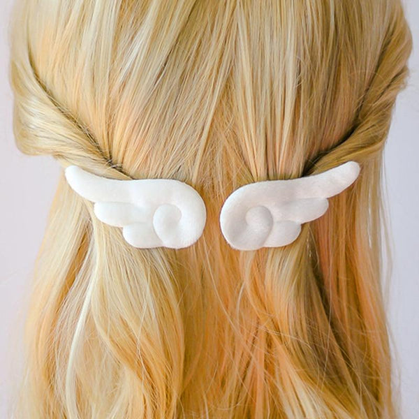 Anime Angel Wings Hair Clip - Tokyo Dreams
