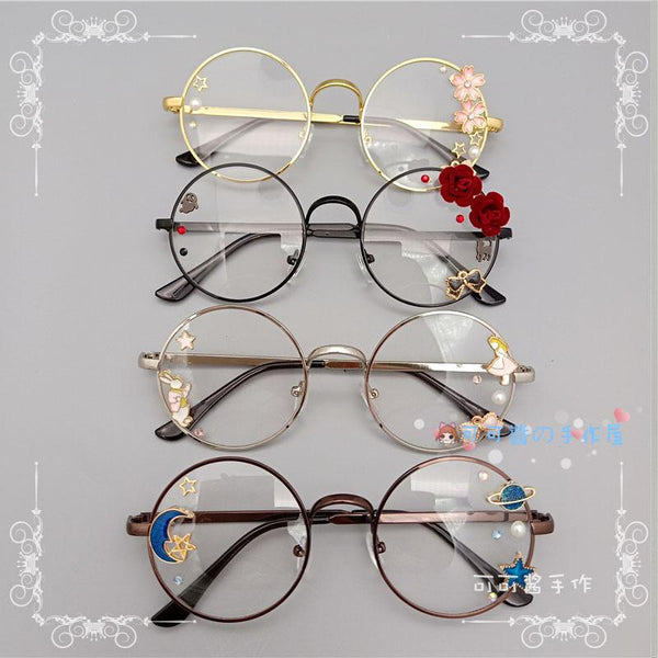 Kawaii Girl Japanese Style Glasses (20 styles) Glasses Tokyo Dreams