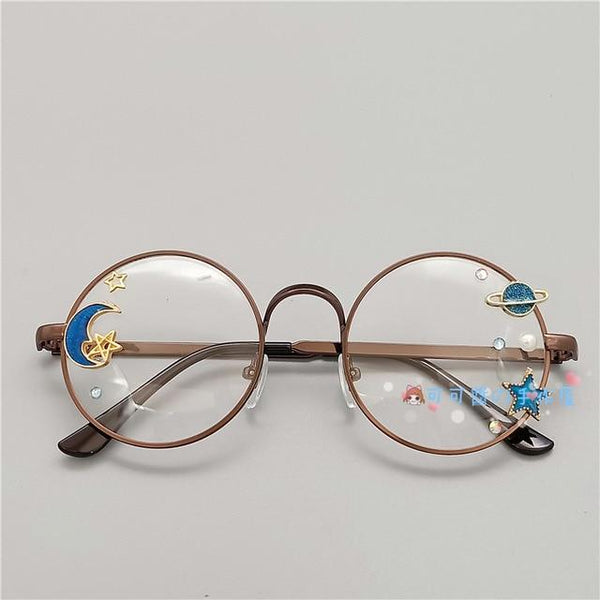 Kawaii Girl Japanese Style Glasses (20 styles) Glasses Tokyo Dreams Copper