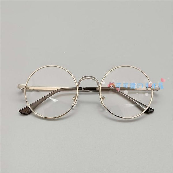 Kawaii Girl Japanese Style Glasses (20 styles) Glasses Tokyo Dreams Silver 5
