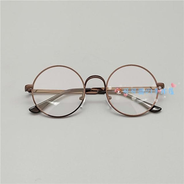 Kawaii Girl Japanese Style Glasses (20 styles) Glasses Tokyo Dreams Copper 3