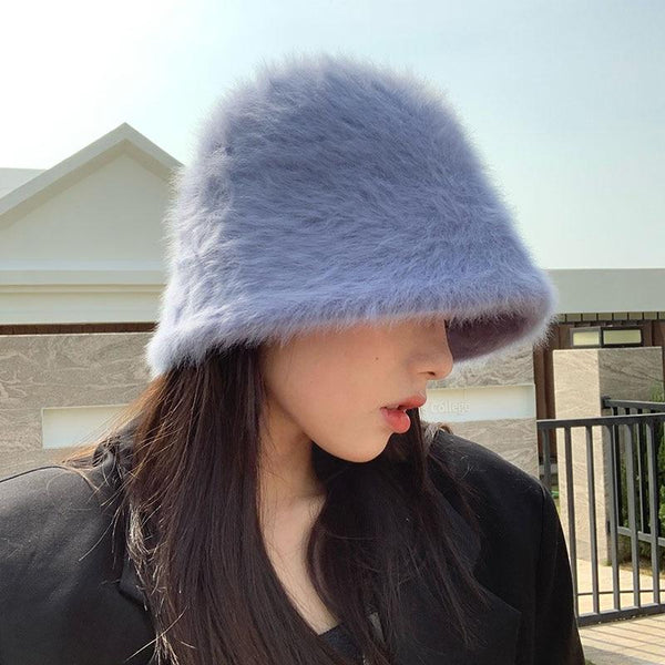 Retro Fur Kawaii Bucket Hat (8 colors) Hat Tokyo Dreams