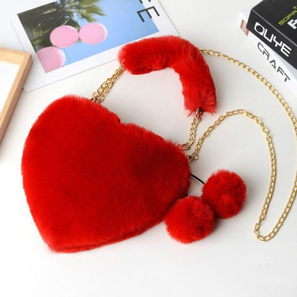 Kawaii Heart Crossbody Purse (10 colors) Purse Tokyo Dreams Red 1