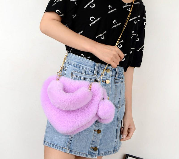 Kawaii Heart Crossbody Purse (10 colors) Purse Tokyo Dreams