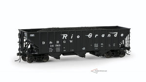 "Rio Grande, ""Committee Design"" Hopper (Bethlehem 2603 HT with Ajax Handbrake and Wine Gate Hardware)"