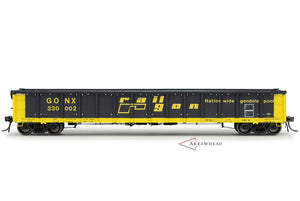 "GONX #330000-330099 ""As Delivered with White Interior"" Greenville 2494 ""Railgon"" Gondola"