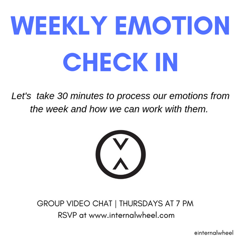 Weekly Emotion Check In