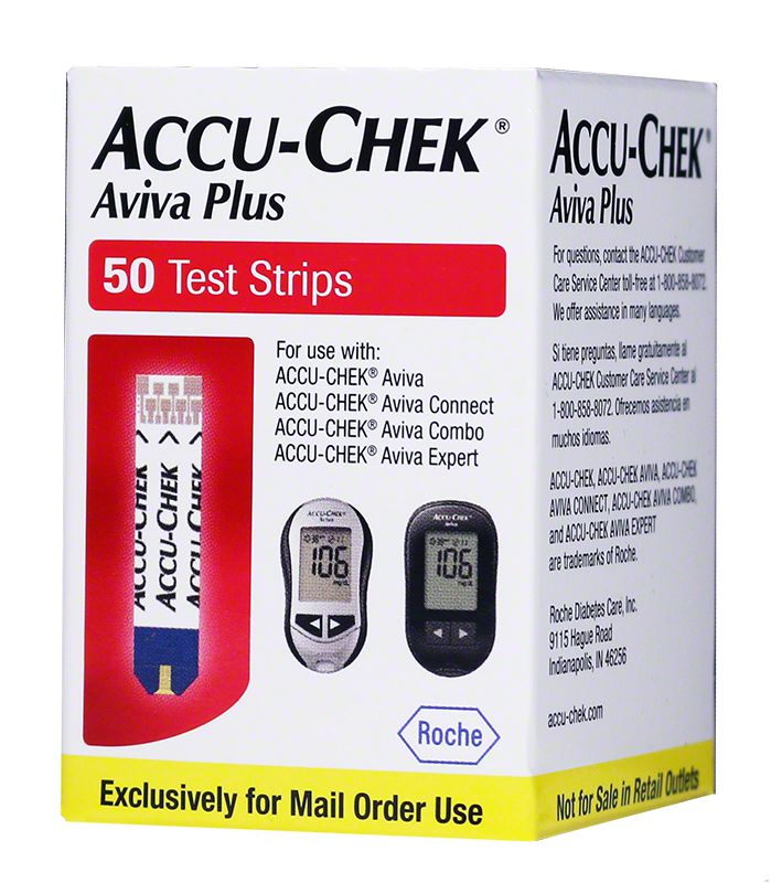 100 Aviva Plus Test Strips