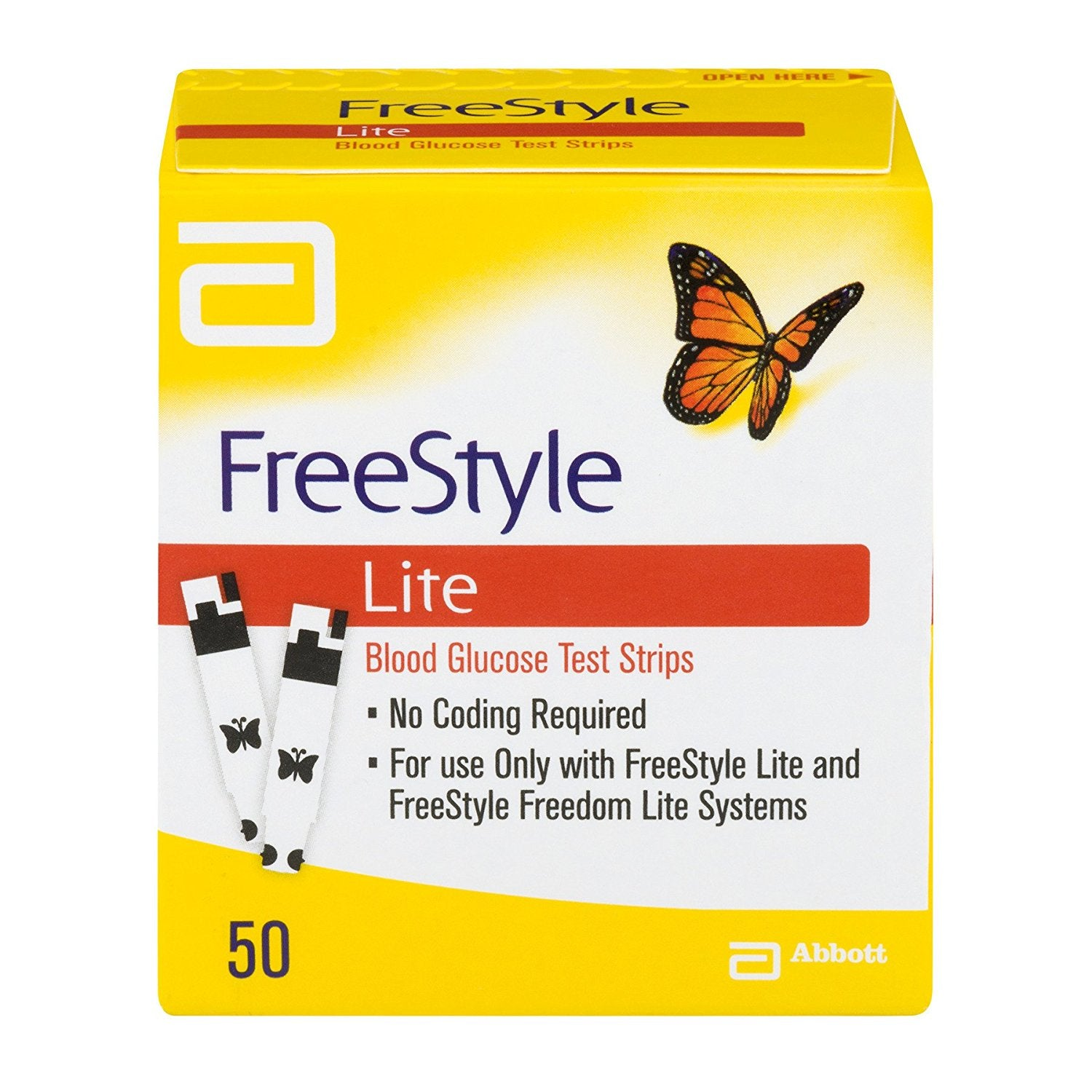 2-3 Per Day (100 FreeStyle Lite Strips)