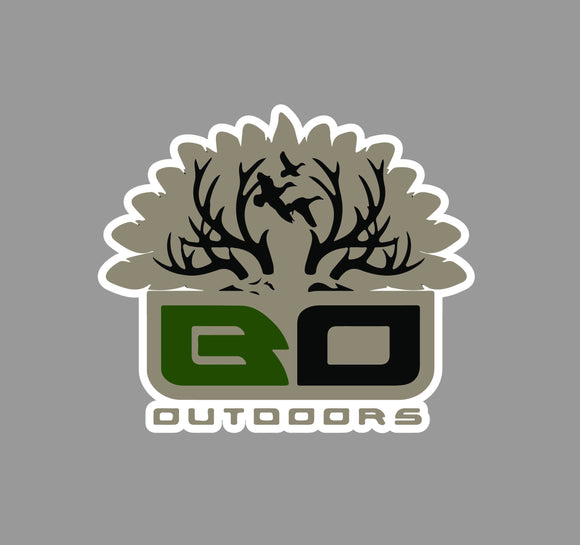 Original Big Oak Logo Decal