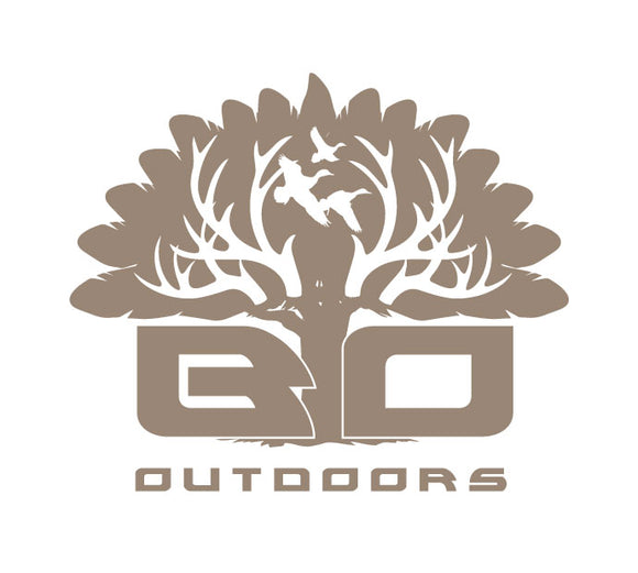 Tan Logo Decal