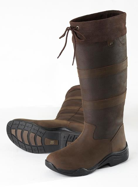 ELT SAN REMO LONG BOOTS BROWN