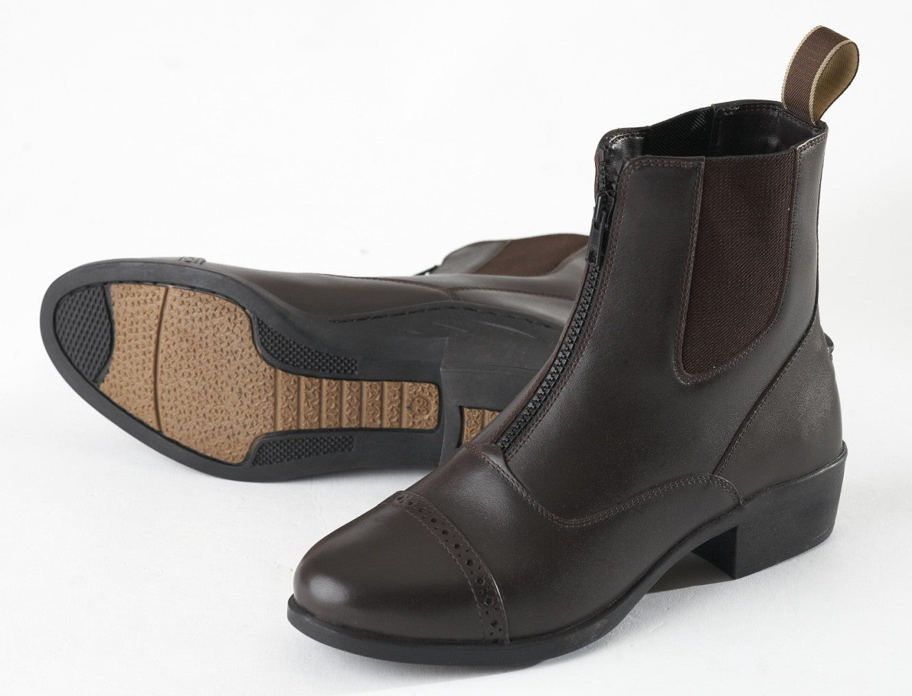 ELT Zip Front Jodhpur Boots Adults