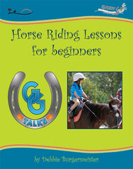 How to Ride A Horse - GG Talks Horse Riding Lessons for Beginners workbook, Giddy Up Beginners Books