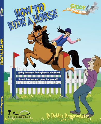 eBook How To Ride A Horse - Horse Riding Lessons For Beginners