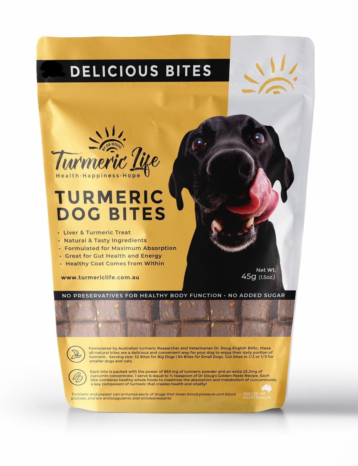 Turmeric Dog and Pet Bites