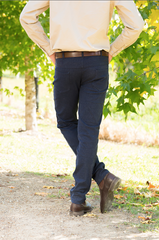 MENS NAVY DENIM JEANS