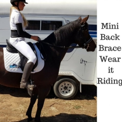 Mini Lumbar Back Support for horse riding