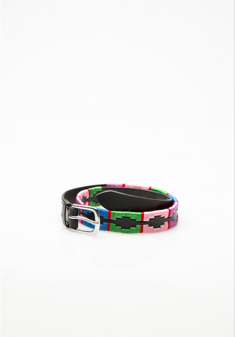 KIDS PINK, PURPLE, BLUE & GREEN POLO BELT