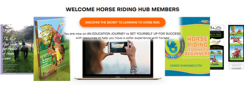 Horse Riding Hub Membership inc lesson discounts, gear & riding vouchers