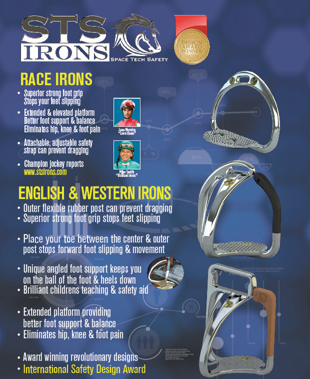 STS Space Technology Safety Stirrup Irons