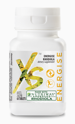 XS™ Energise Rhodiola – 60 Tablets to be at your best with horses