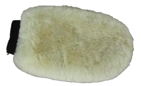 MERINO FLEECE GROOMING MITT