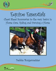 GG Talks - Equine Essentials cheat sheet summaries