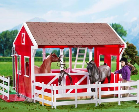 BREYER CLASSICS SPRING CREEK STABLE