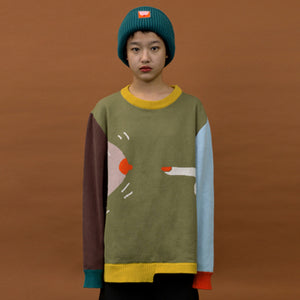 YIZISToRE No.3 creative cotton sweaters UNISEX for girls and boys original designed (FUN KIK)
