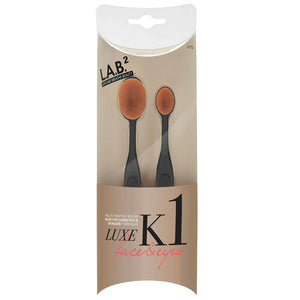 Lab 2 Beauty Luxe Oval K1 Brush Kit (Luxe 6 & 7)