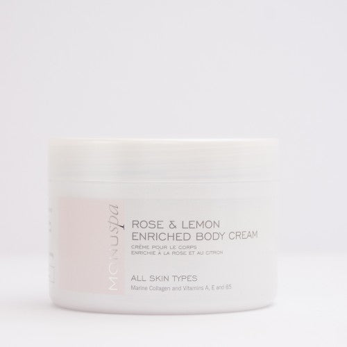 MONUspa Rose and Lemon Enriched Body Cream 100 ml