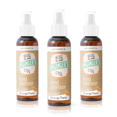 Dr. Ginger's Hand Sanitizer Spray 2oz - 3 Pack