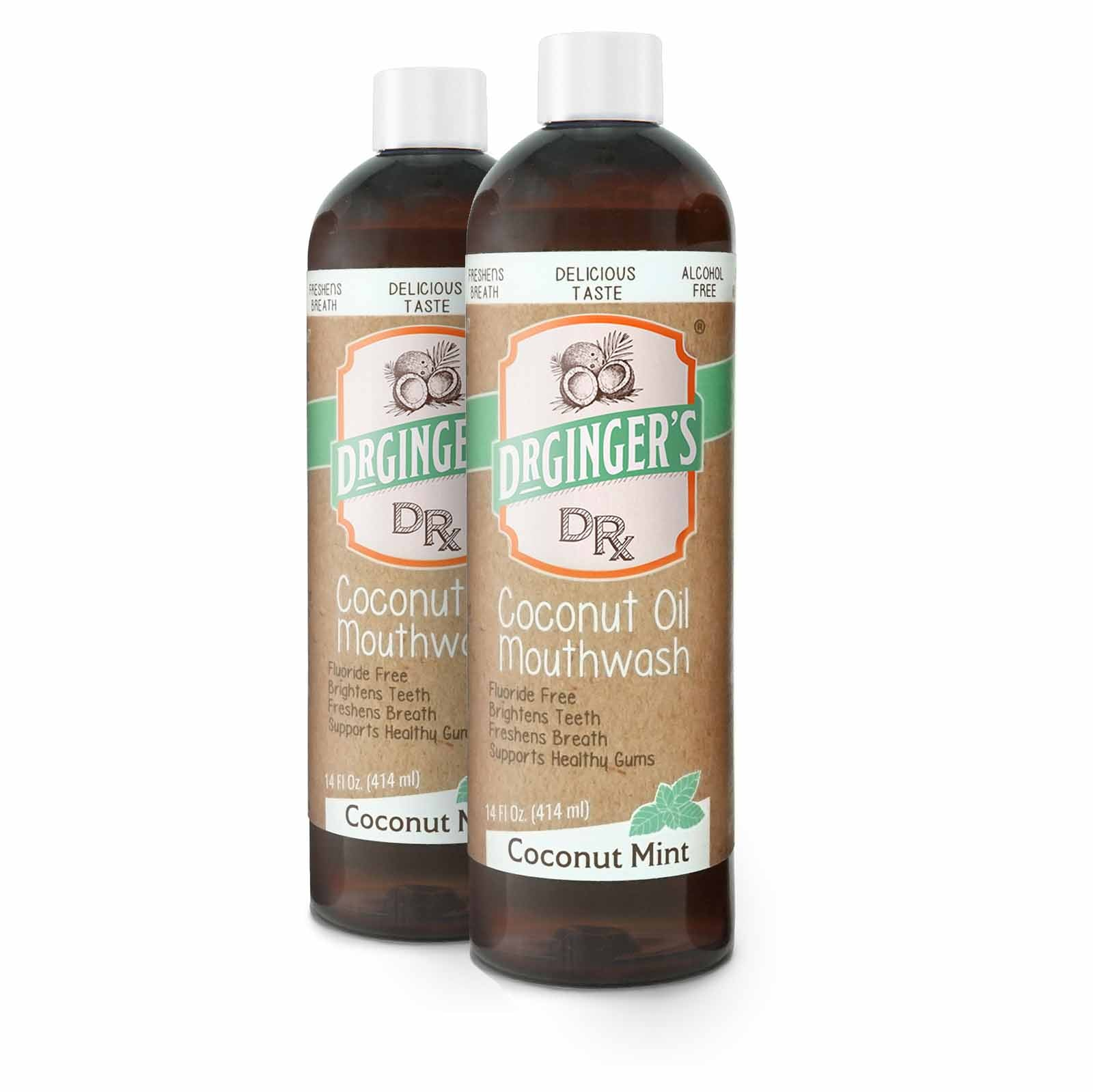 Coconut Oil Mouthwash Bundle (2-Pack)