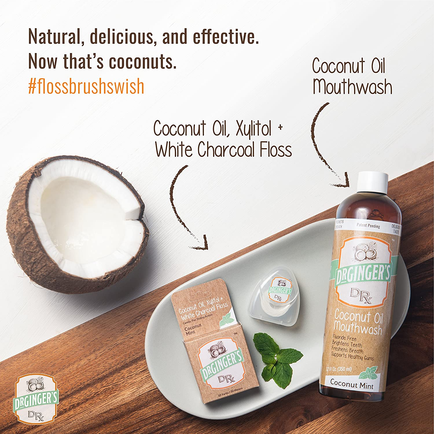 Natural, delicious, and effective. Now that's coconuts.