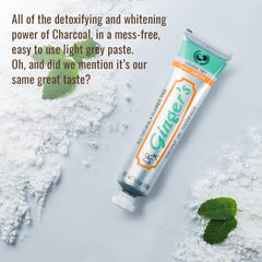 White Charcoal Toothpaste